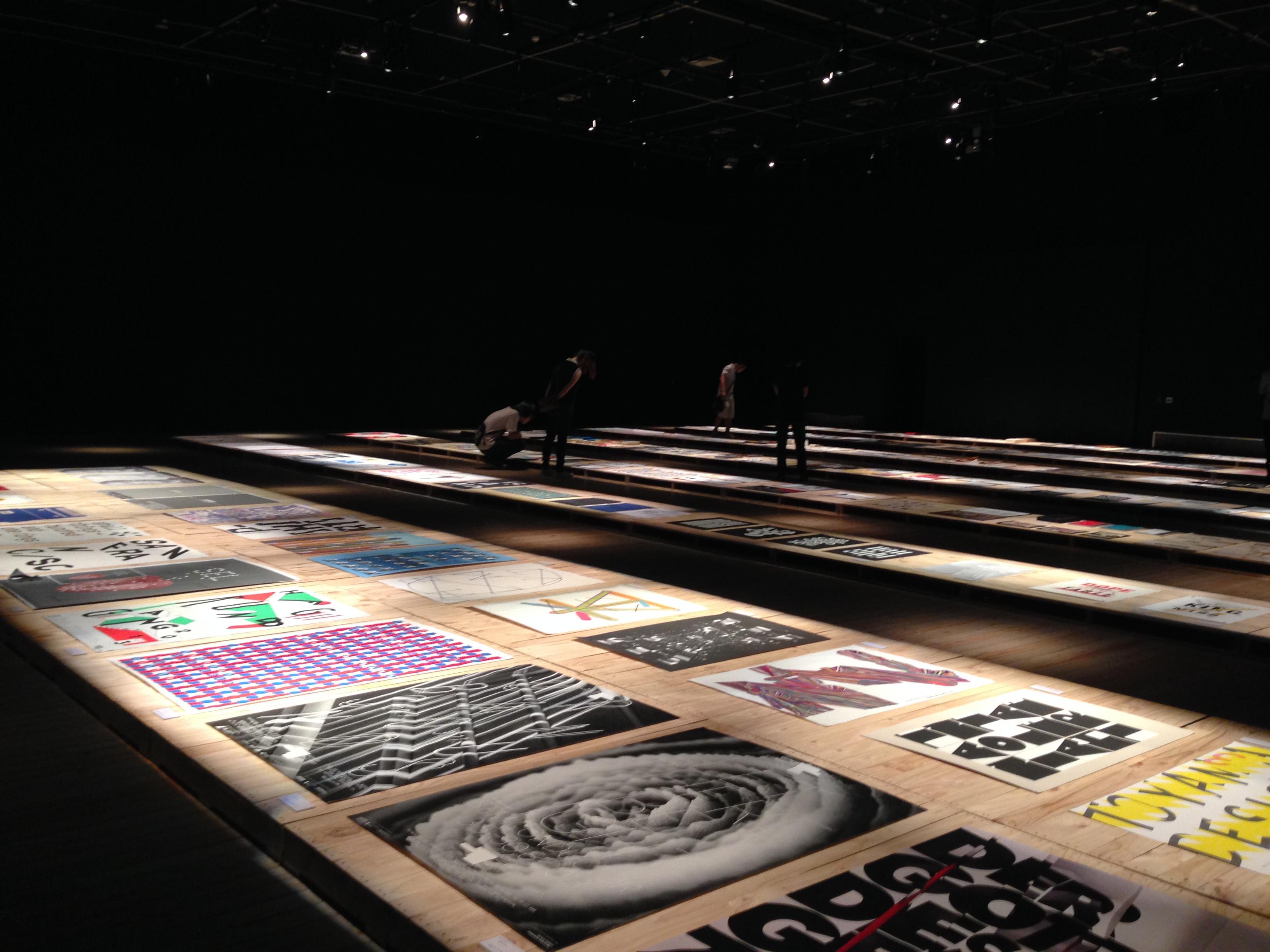Typografie-Ausstellung